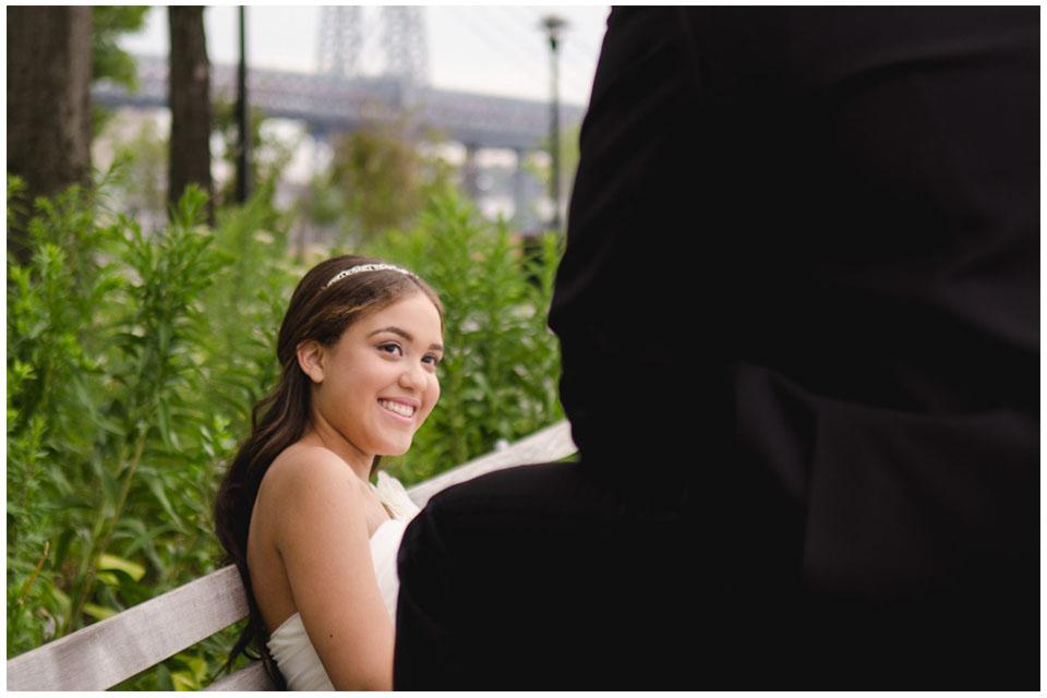 Corlears Hook Park | NY Wedding Photography by Lara Photography